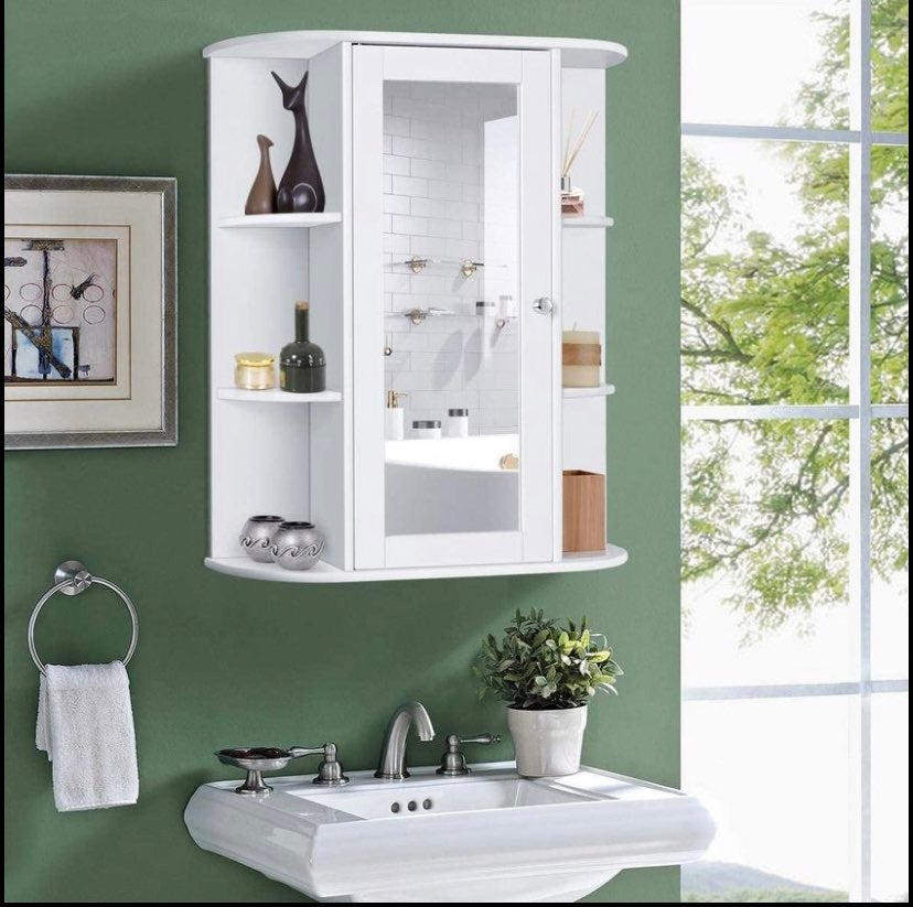 Home Bathroom Wall Mount Cabinet
