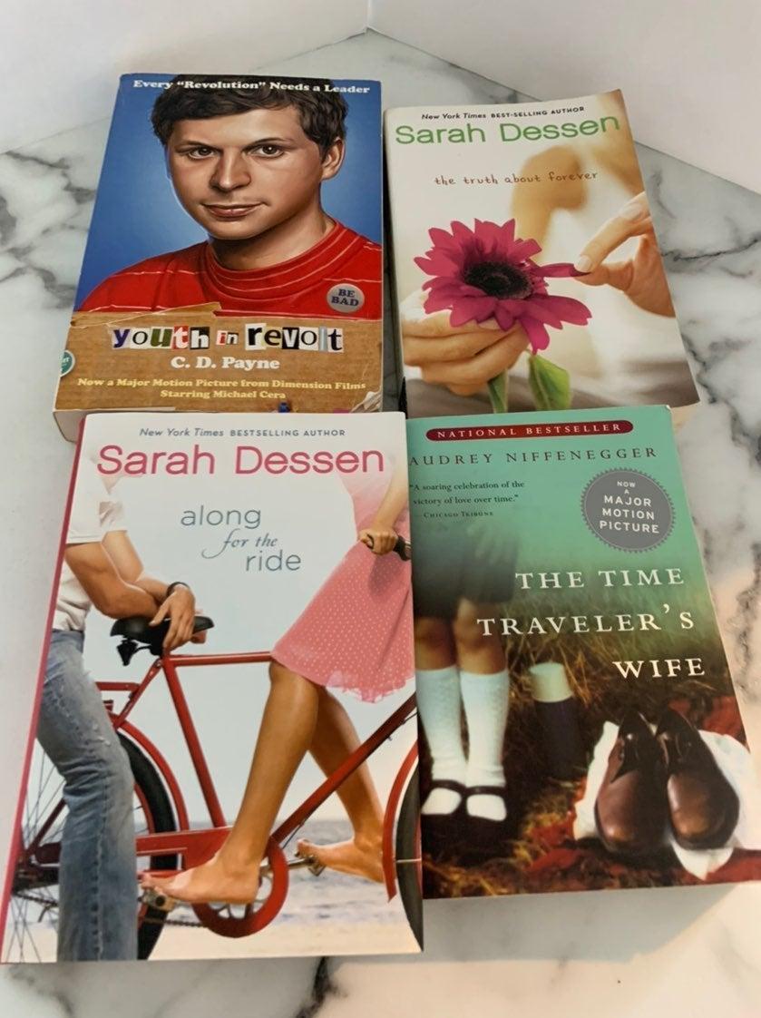 4 YA Novels Books