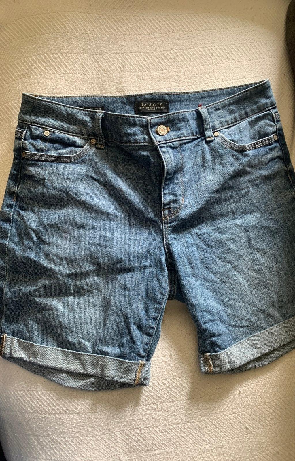 Womans talbots Jean Shorts