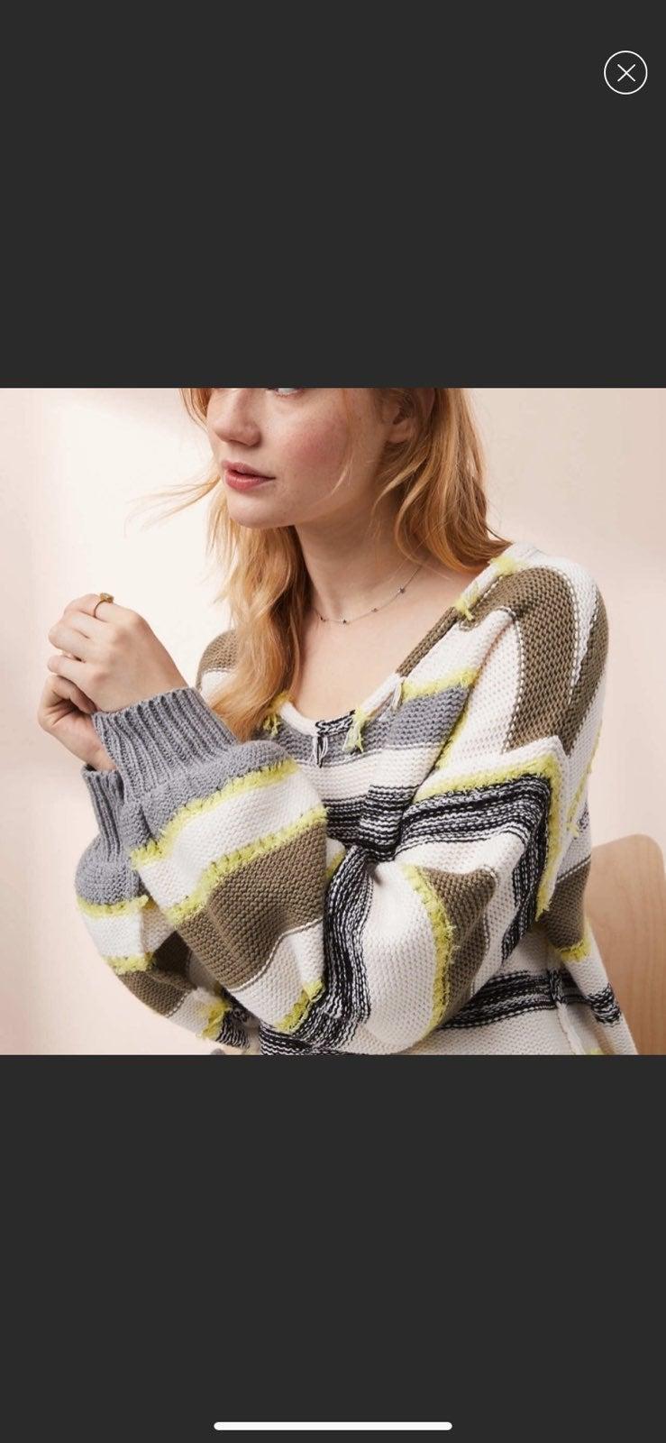 Loft lou & Grey striped time sweater