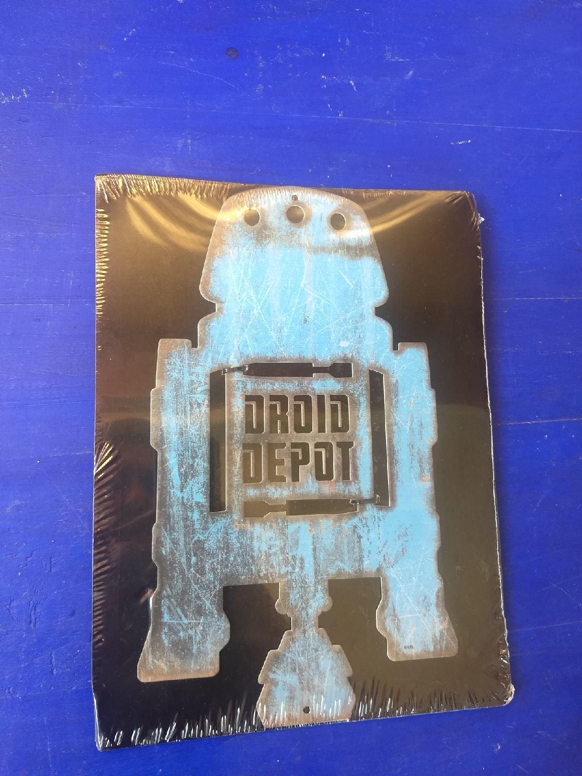 Star wars Droid depot sign New