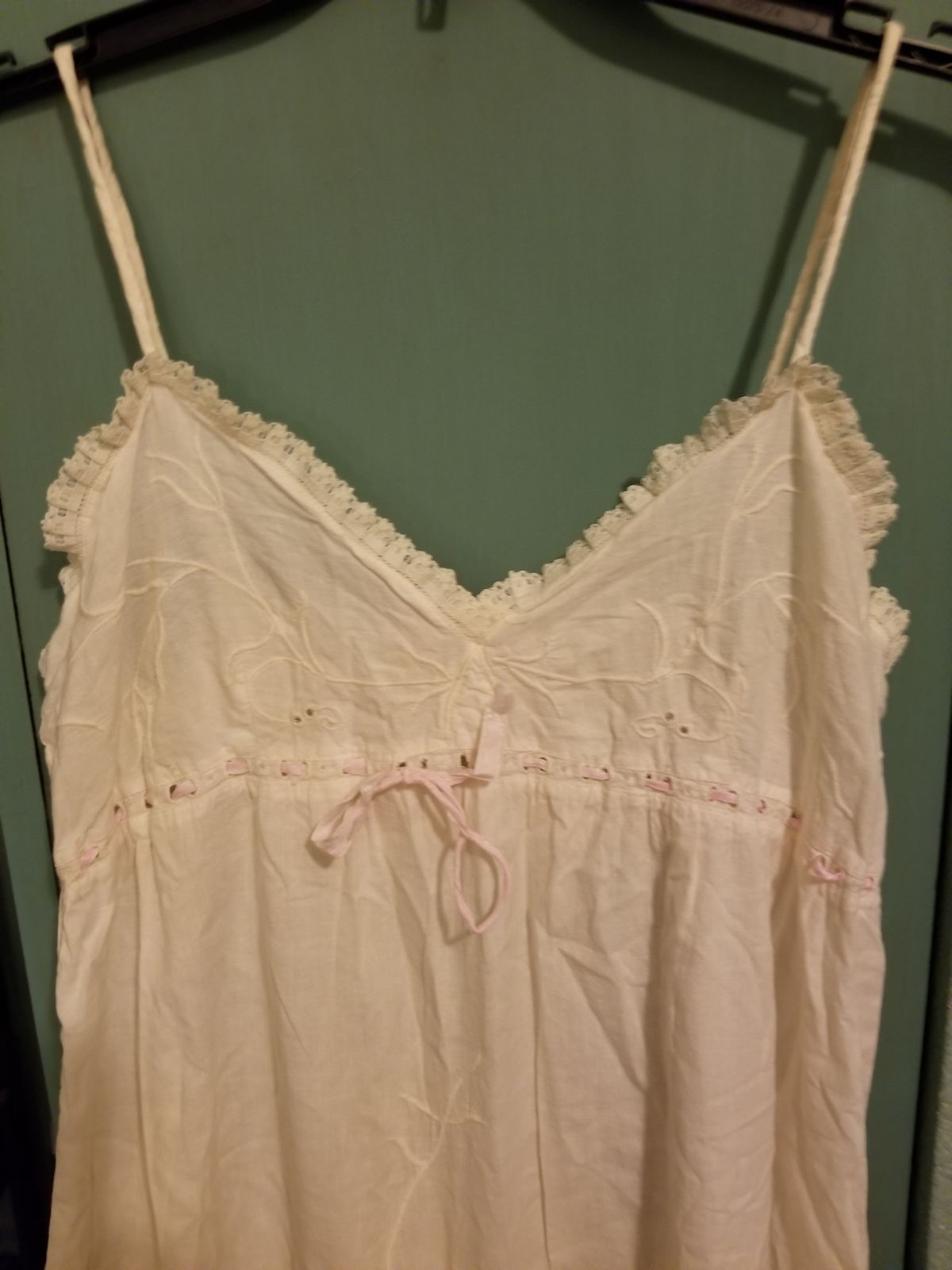Vintage Long White Nightgown