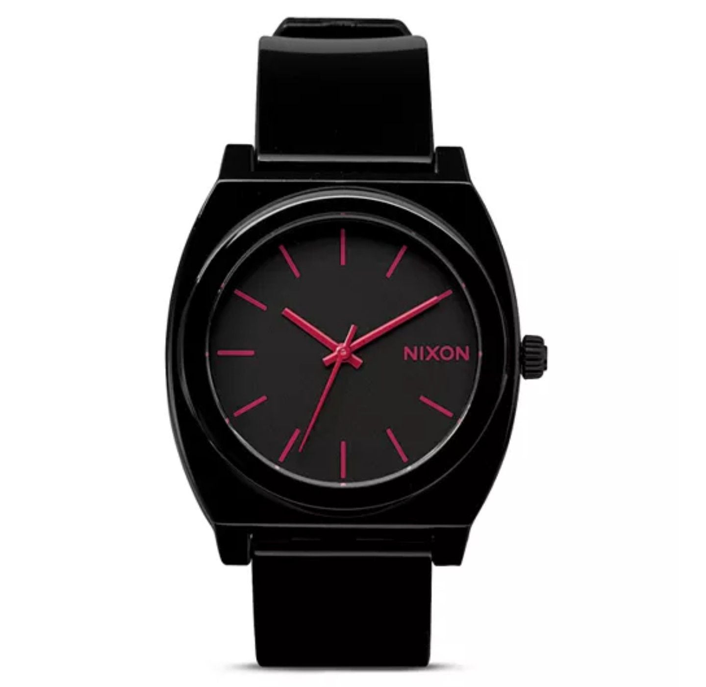 Nixon Minimal Watch pink and black