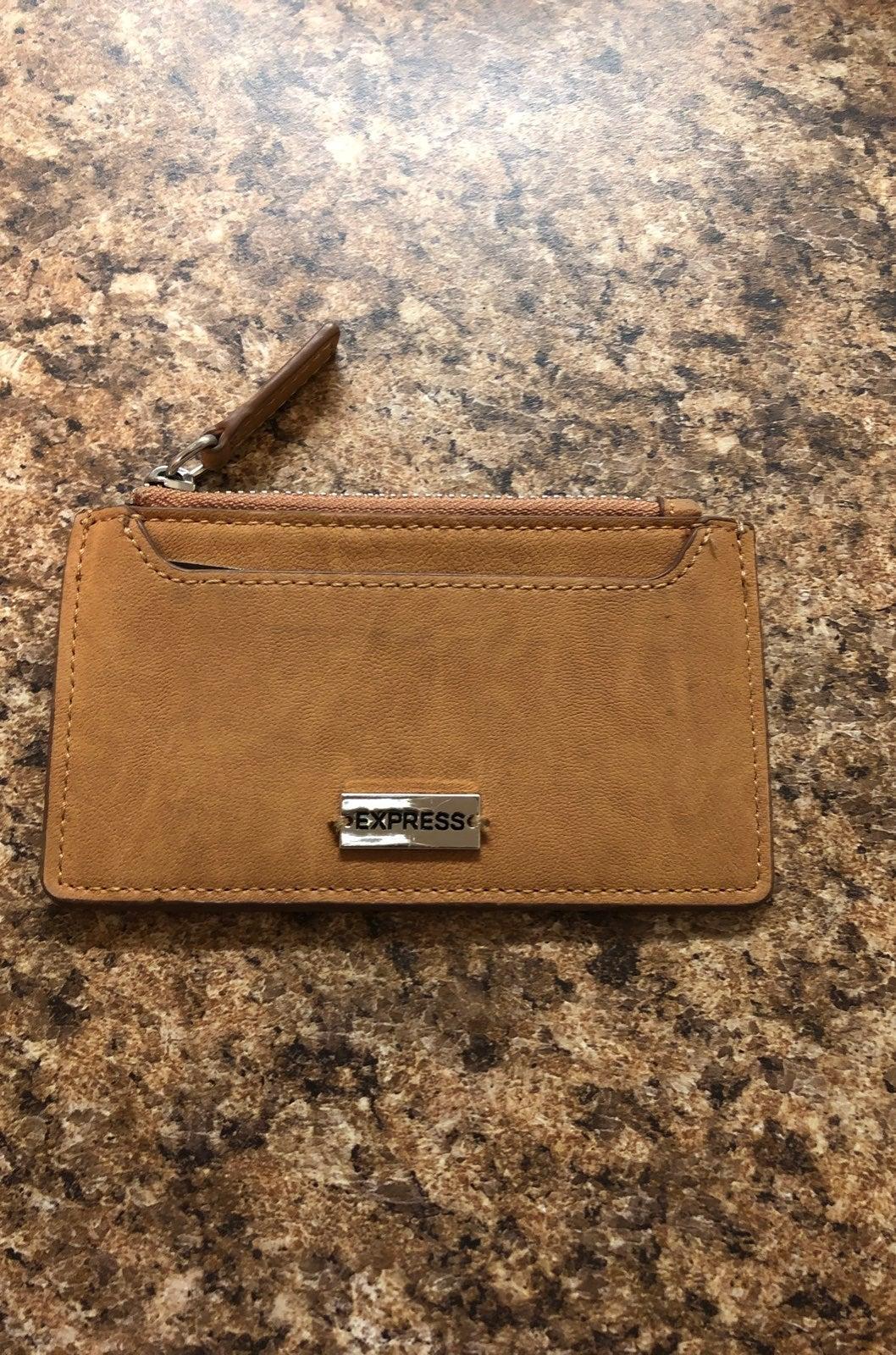 Express Tan Wallet