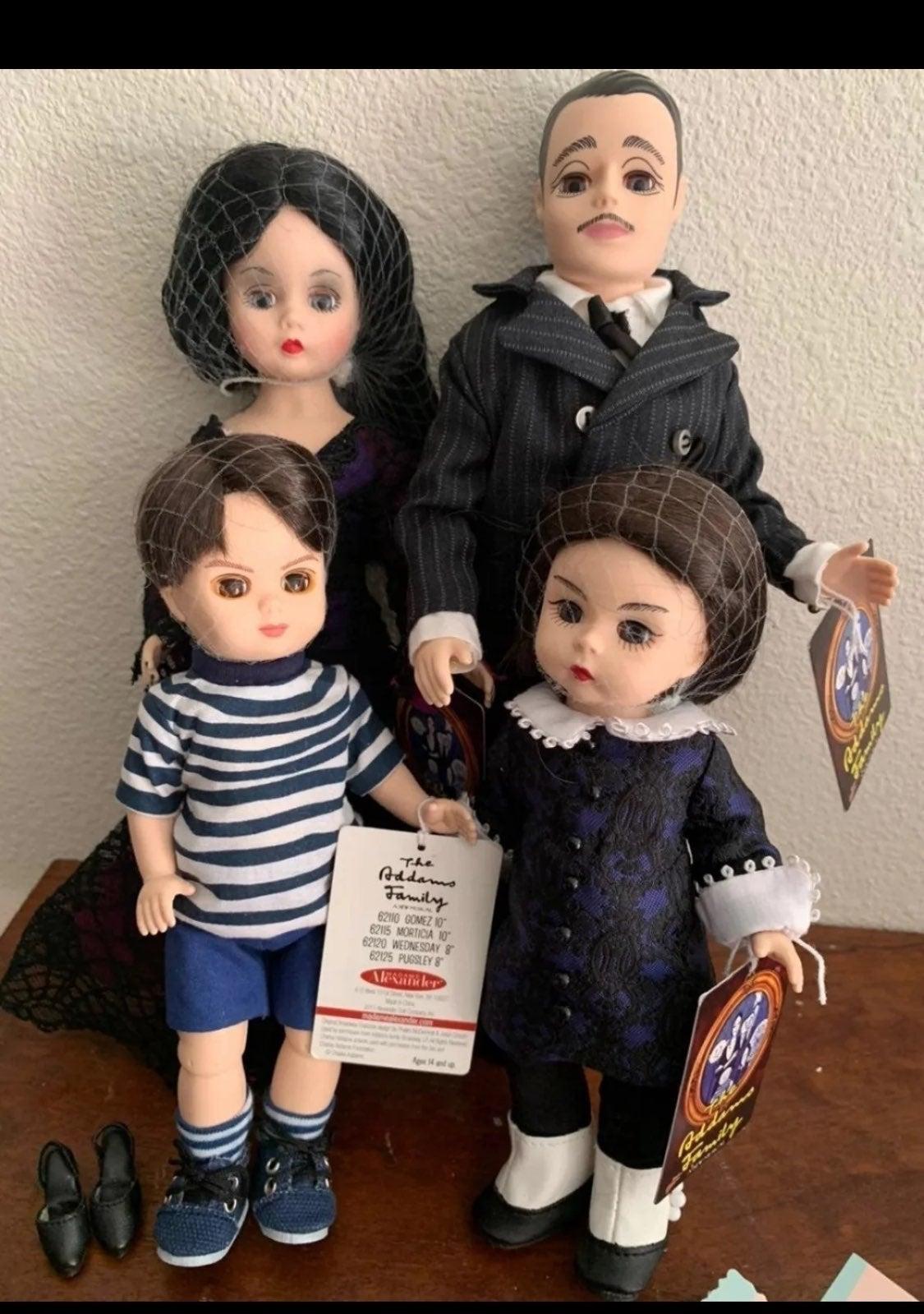 Madame Alexander Addams family