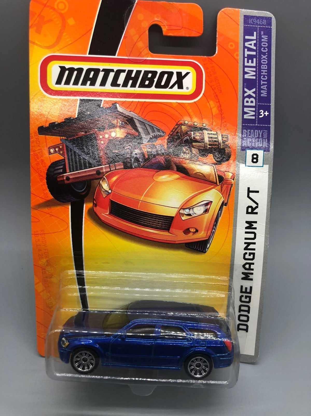 Matchbox Blue DODGE MAGNUM R/T