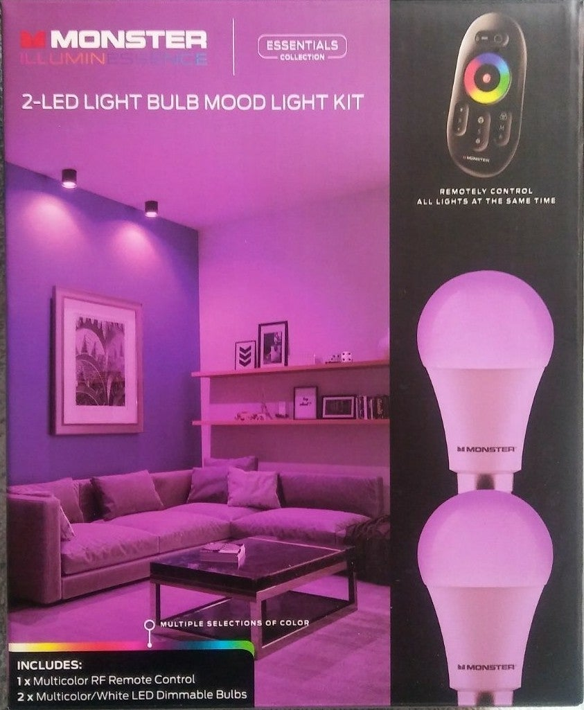 Mood lighting remote controlled color ch