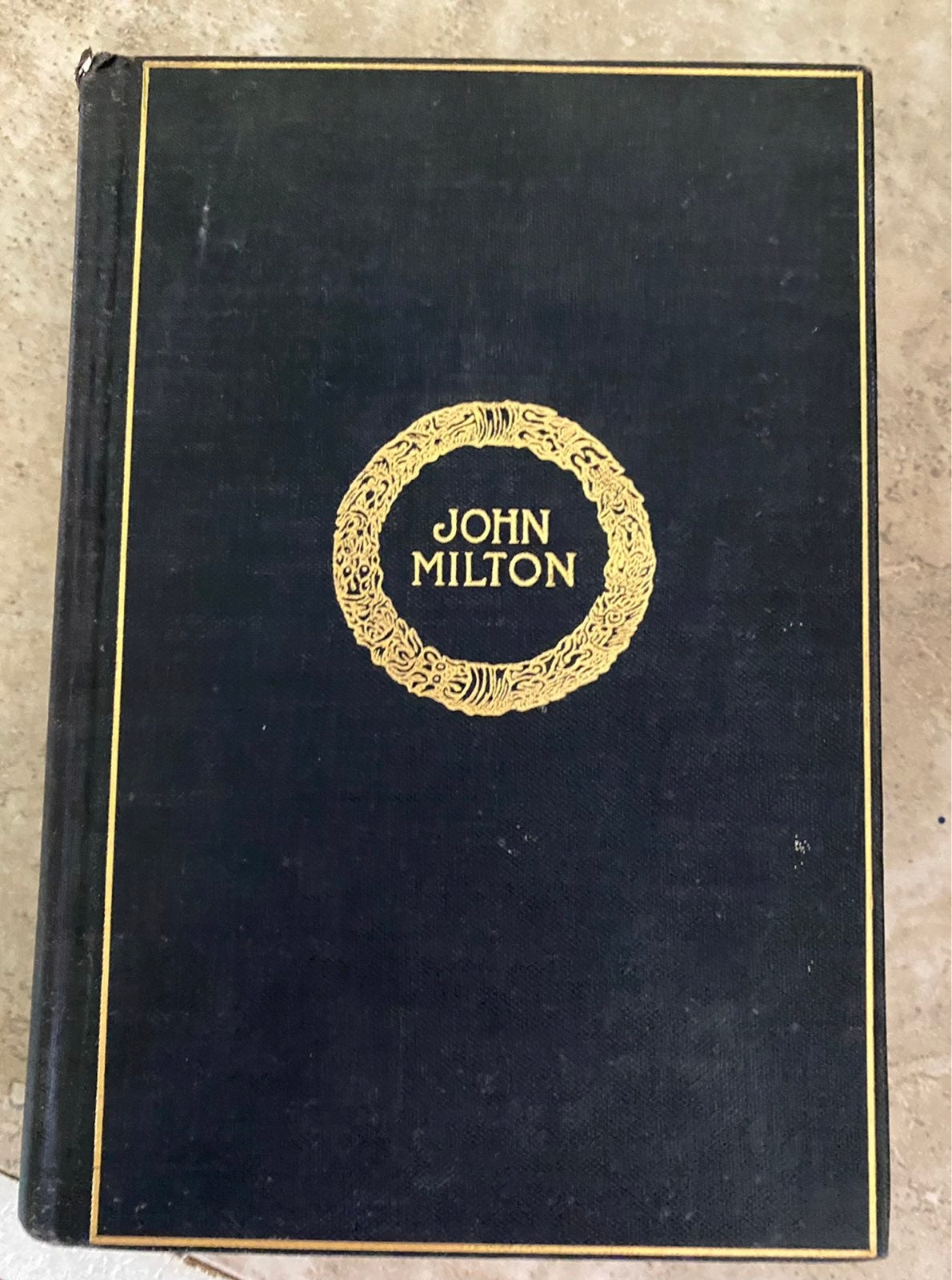 Milton's complete works Cambridge editio