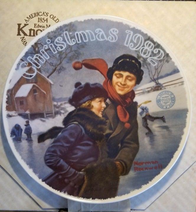 "Norman Rockwell ""Christmas Courtship"""