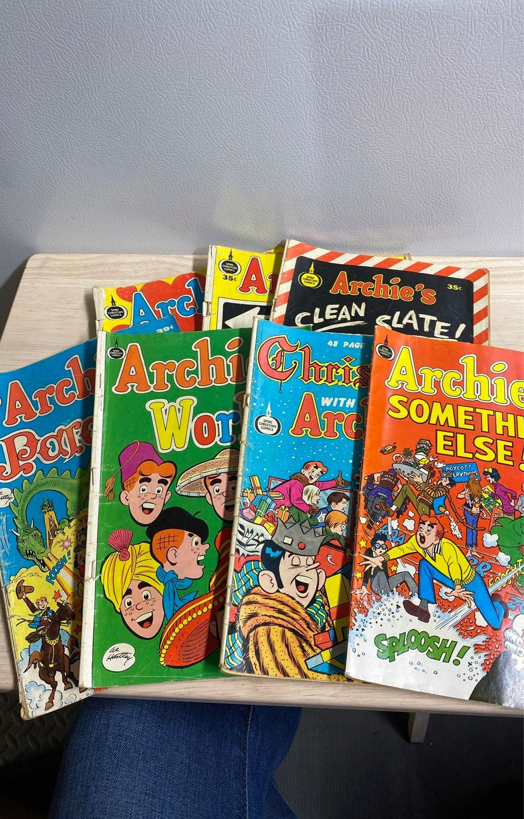 7 Vintage Archie Spire Christian Comics