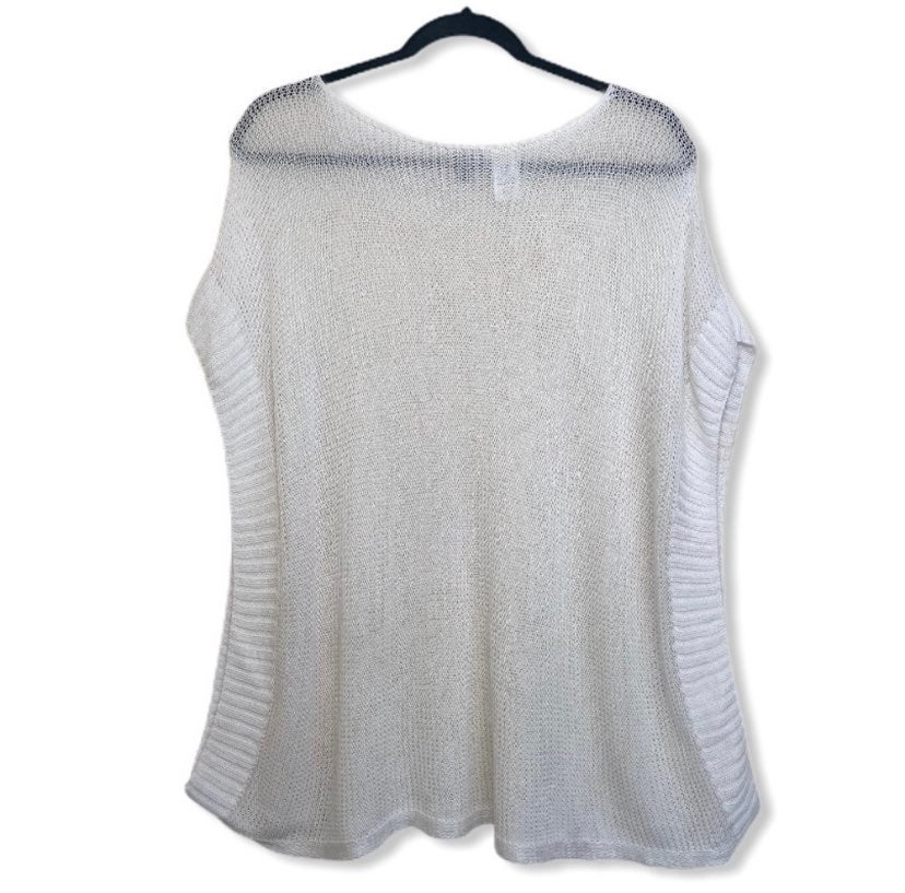 Talbots Oversized Knit Poncho Sweater