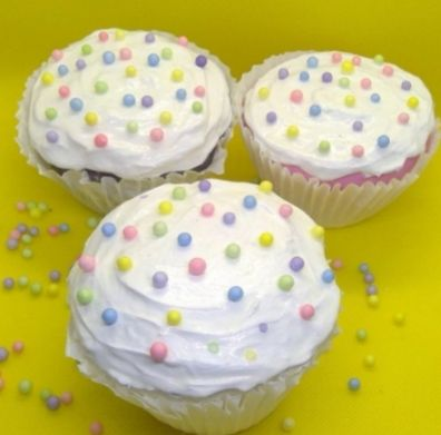 Old Fashioned Scented Fake Cupcake 3