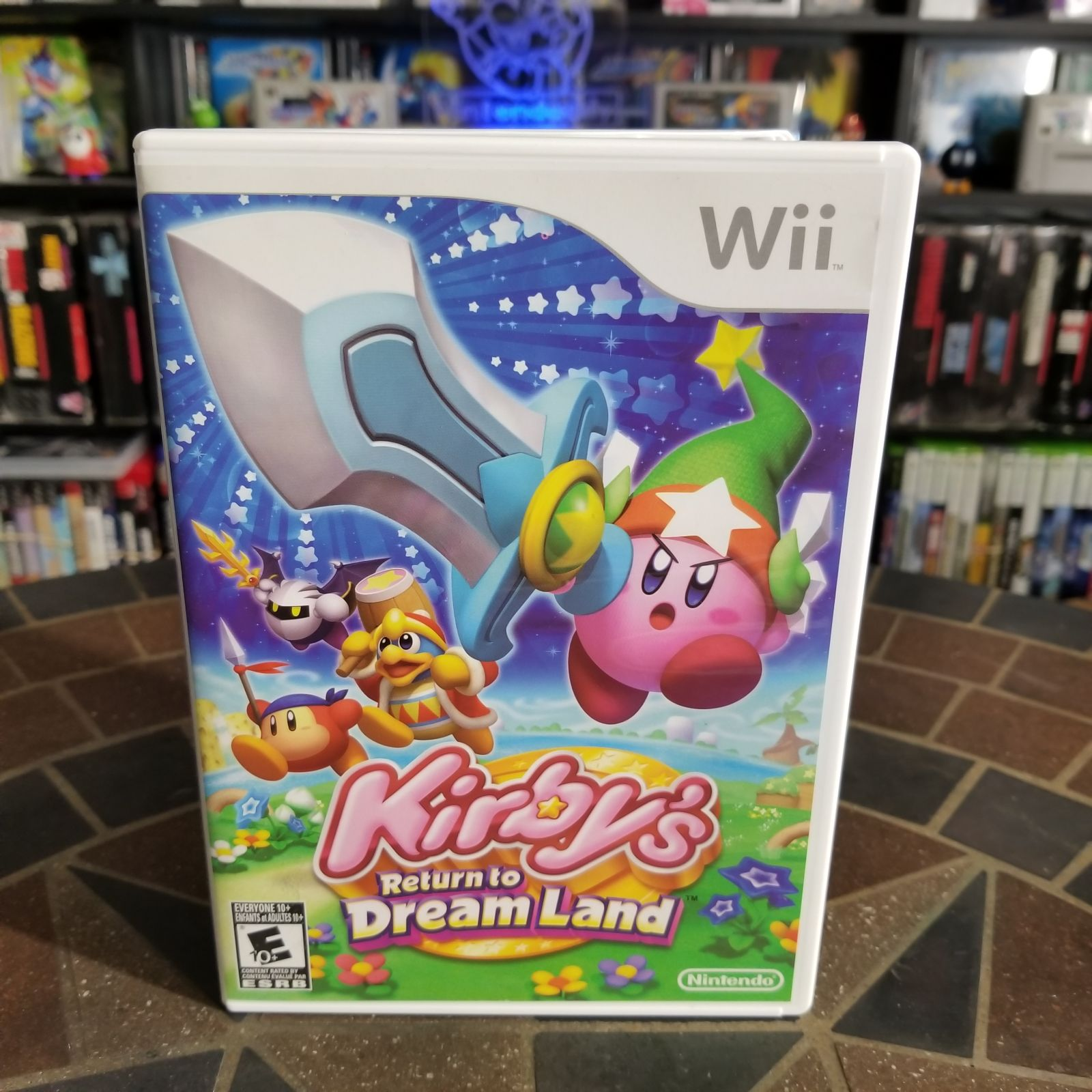 Kirby S Return To Dream Land Games Mercari