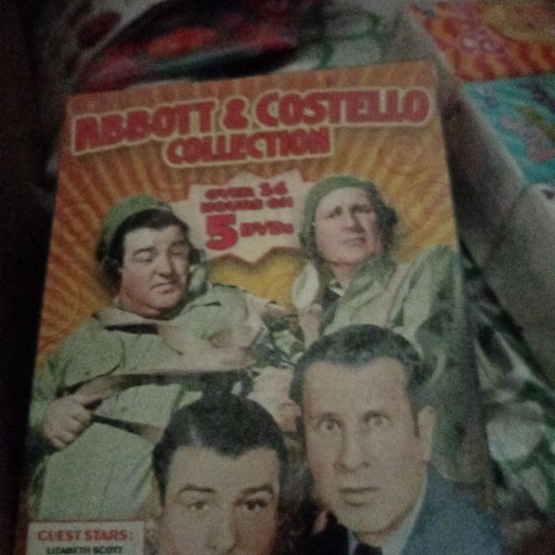 dvd movies Abbot and Costello NRFP
