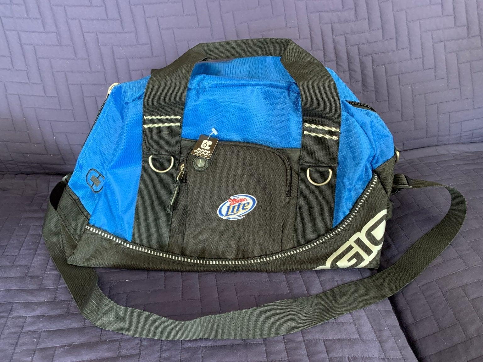 NWT OGIO Half Dome Gym Bag w Embroidery