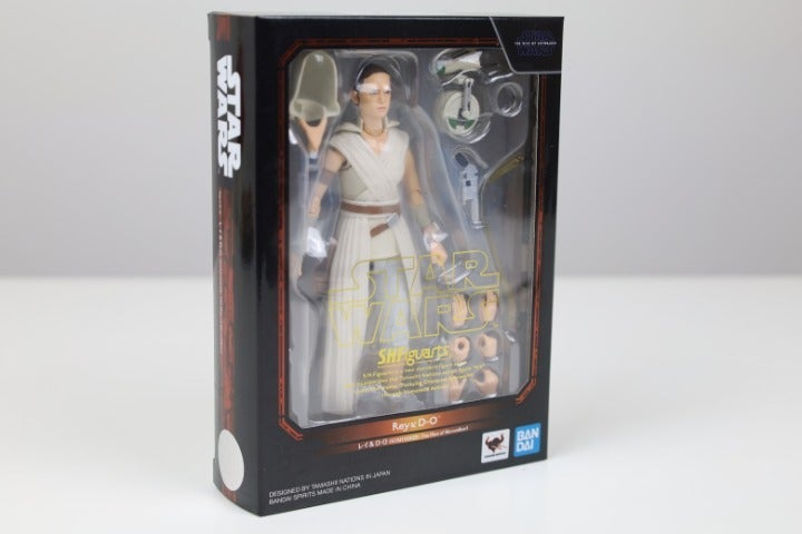 BANDAI S.H.Figuarts Star Wars Rey & D-O