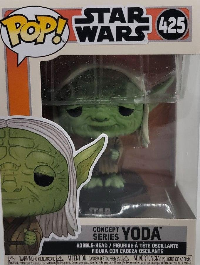 Funko pop Star Wars Concept Series Yoda