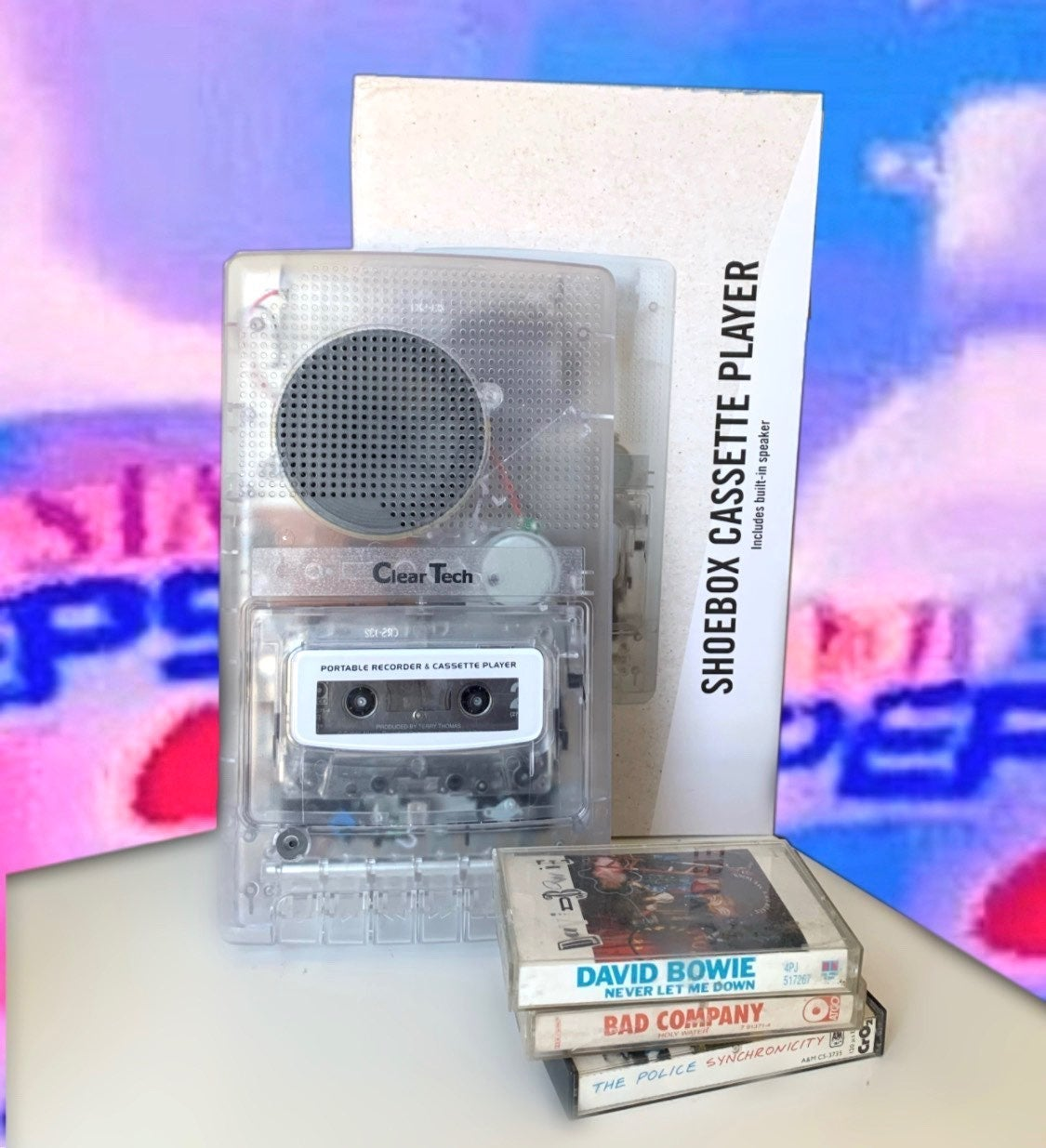 Clear tech Cassette tape Player