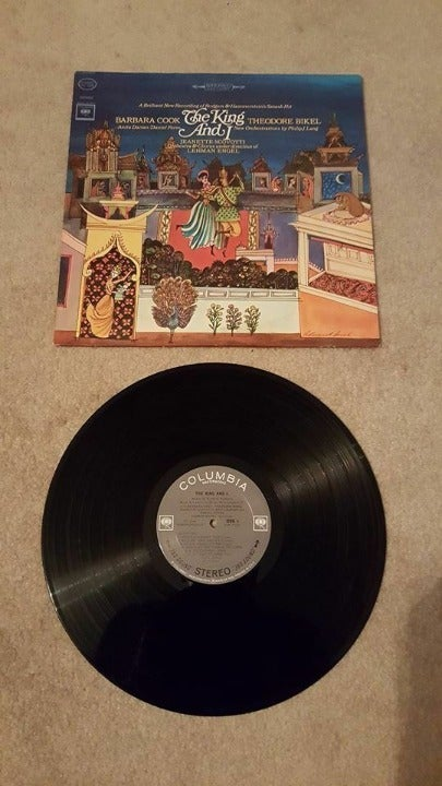 The King and I Stereo Vinyl Record VG+#4
