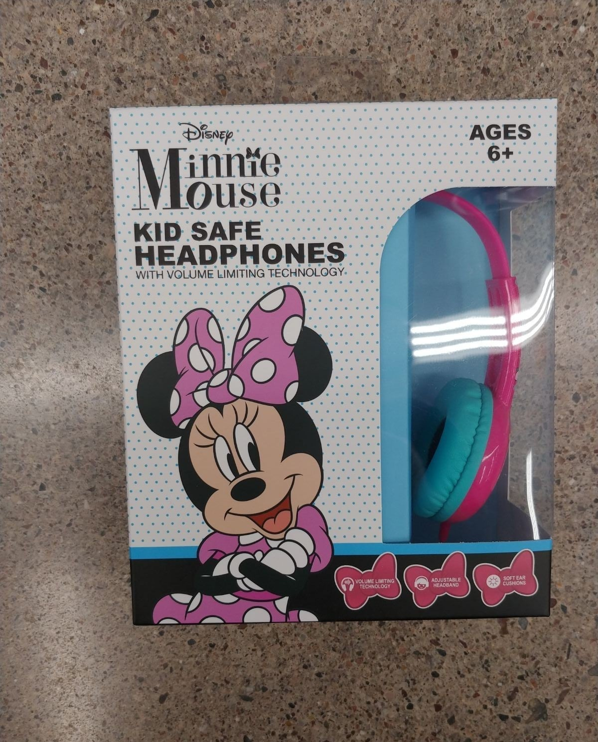 Minnie Mouse Headphones for Kids Gift