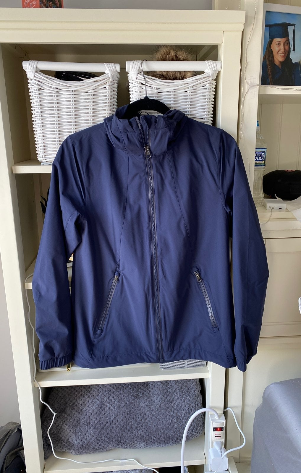 Lululemon Jacket/Windbreaker Size 6 Navy