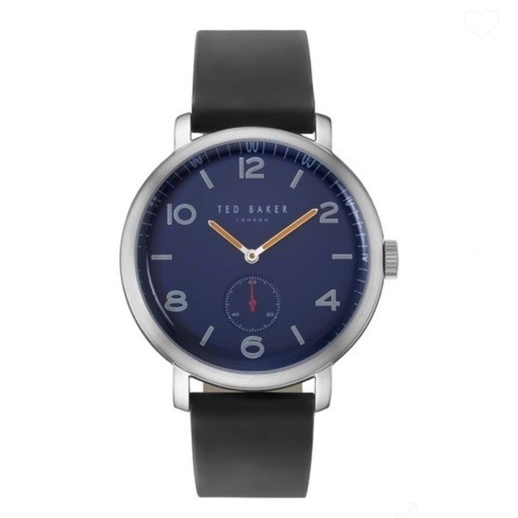 TED BAKER LONDON MEN'S LEATHER WATCH