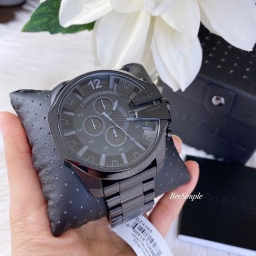 Diesel Mega Chief Black Stainless Steel Watch