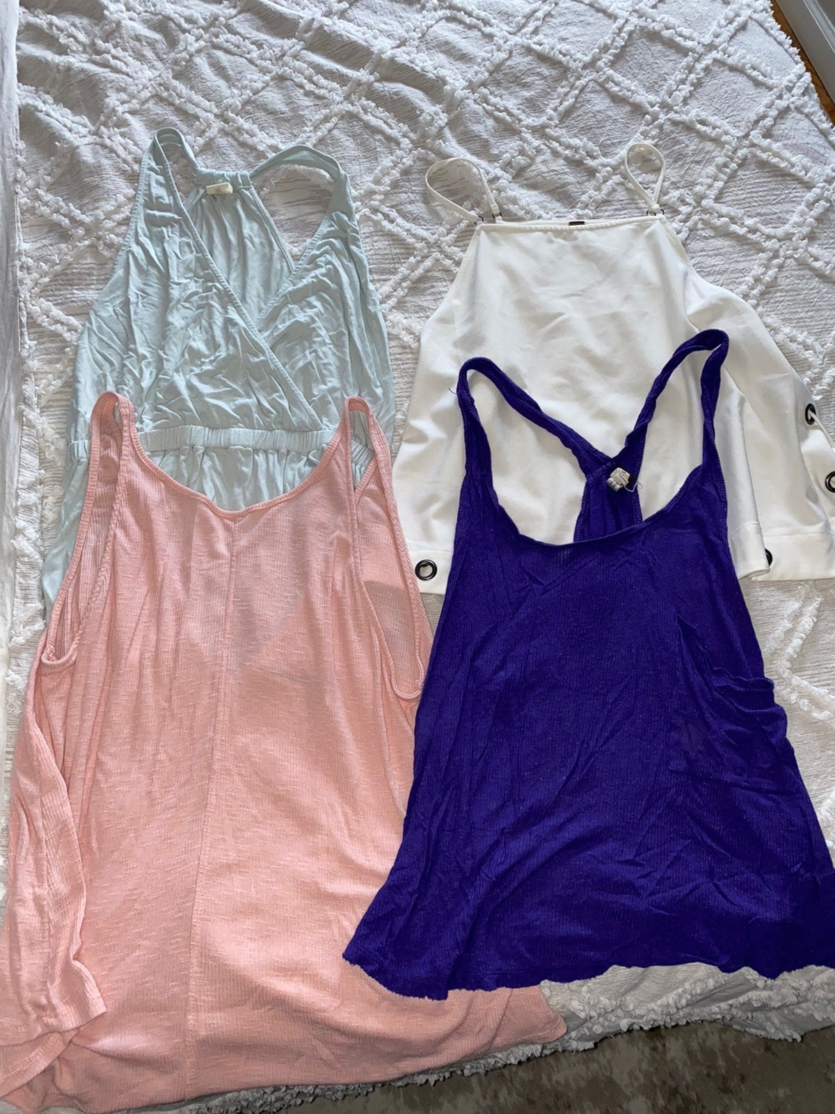 Free People/We Are the Free tank bundle