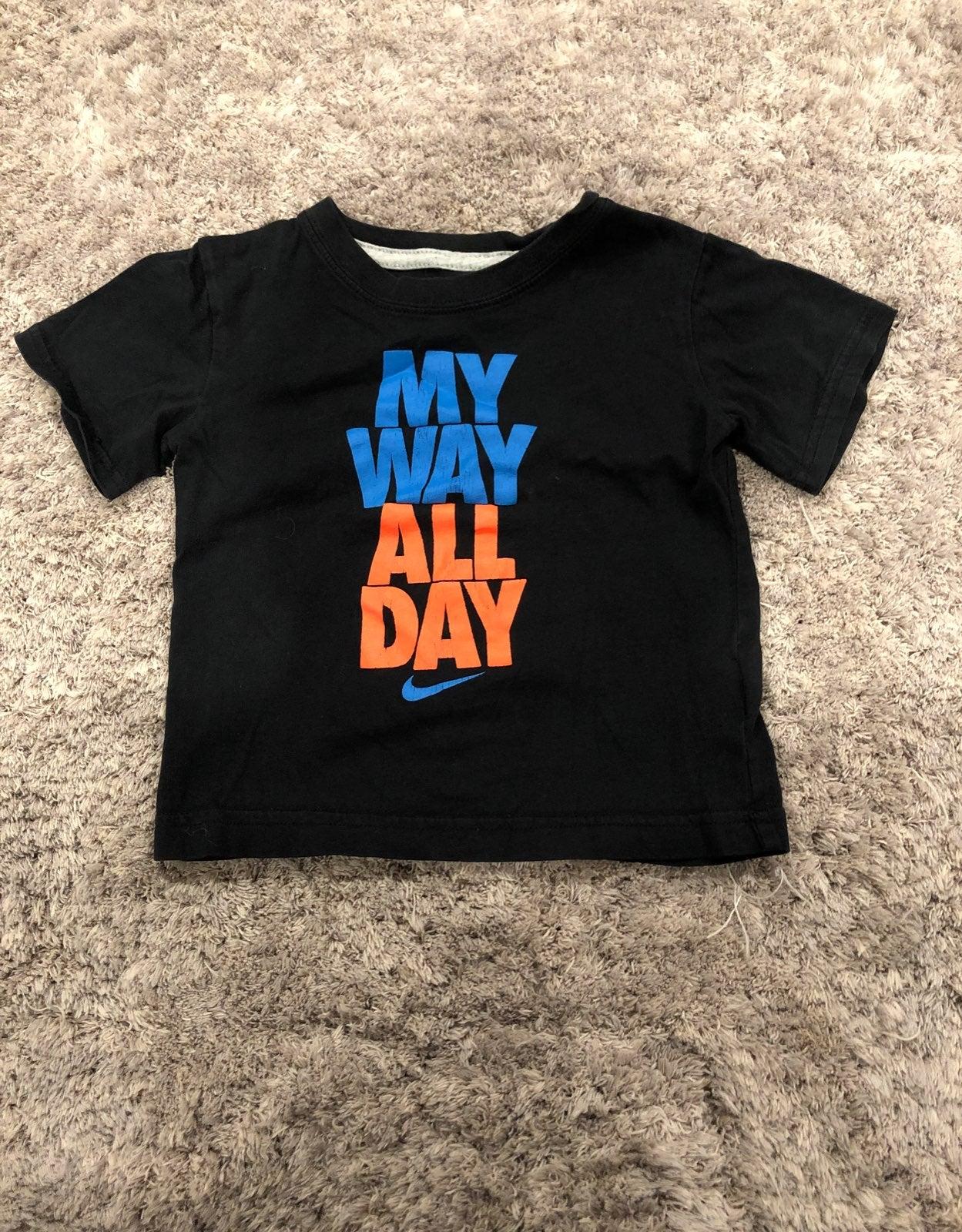 Kids nike Shirt black 3T