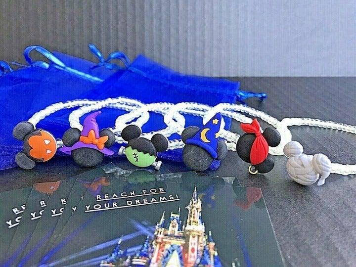 Disney Halloween Bracelets Set Of 6