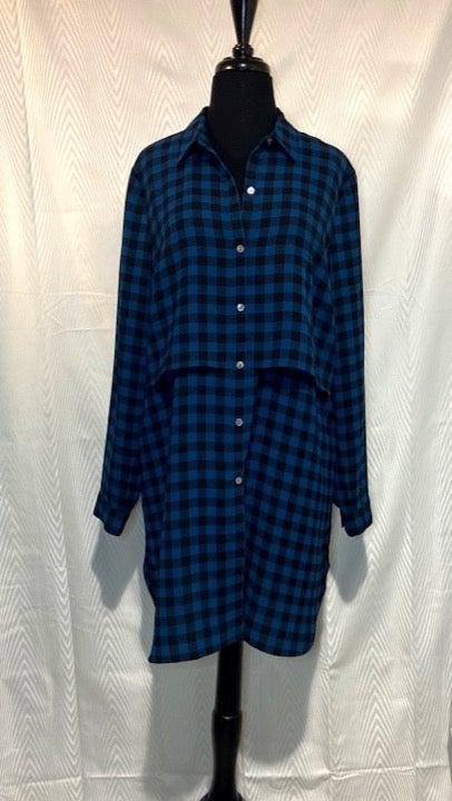 J. Jill Oversized Tunic Shirt Dress M