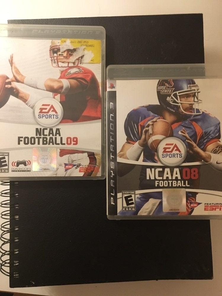 NCAA Football 08 And NCAA Football O9