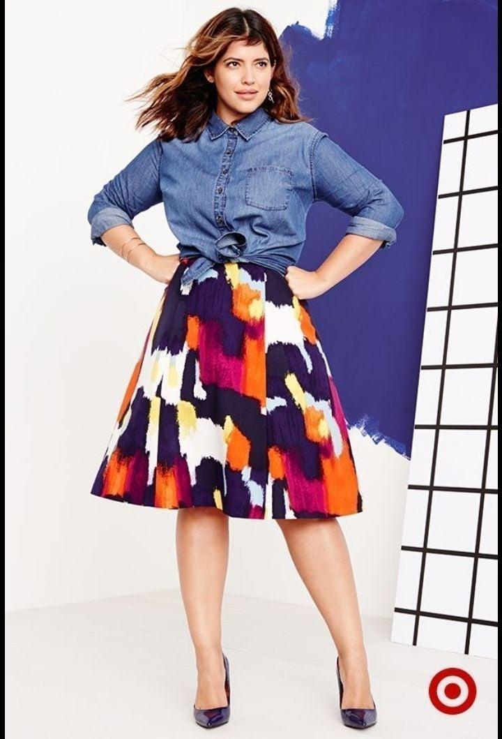Muticolor Skirt