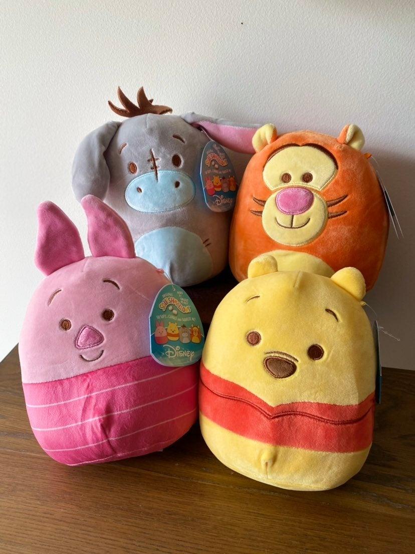 squishmallow winnie the pooh set