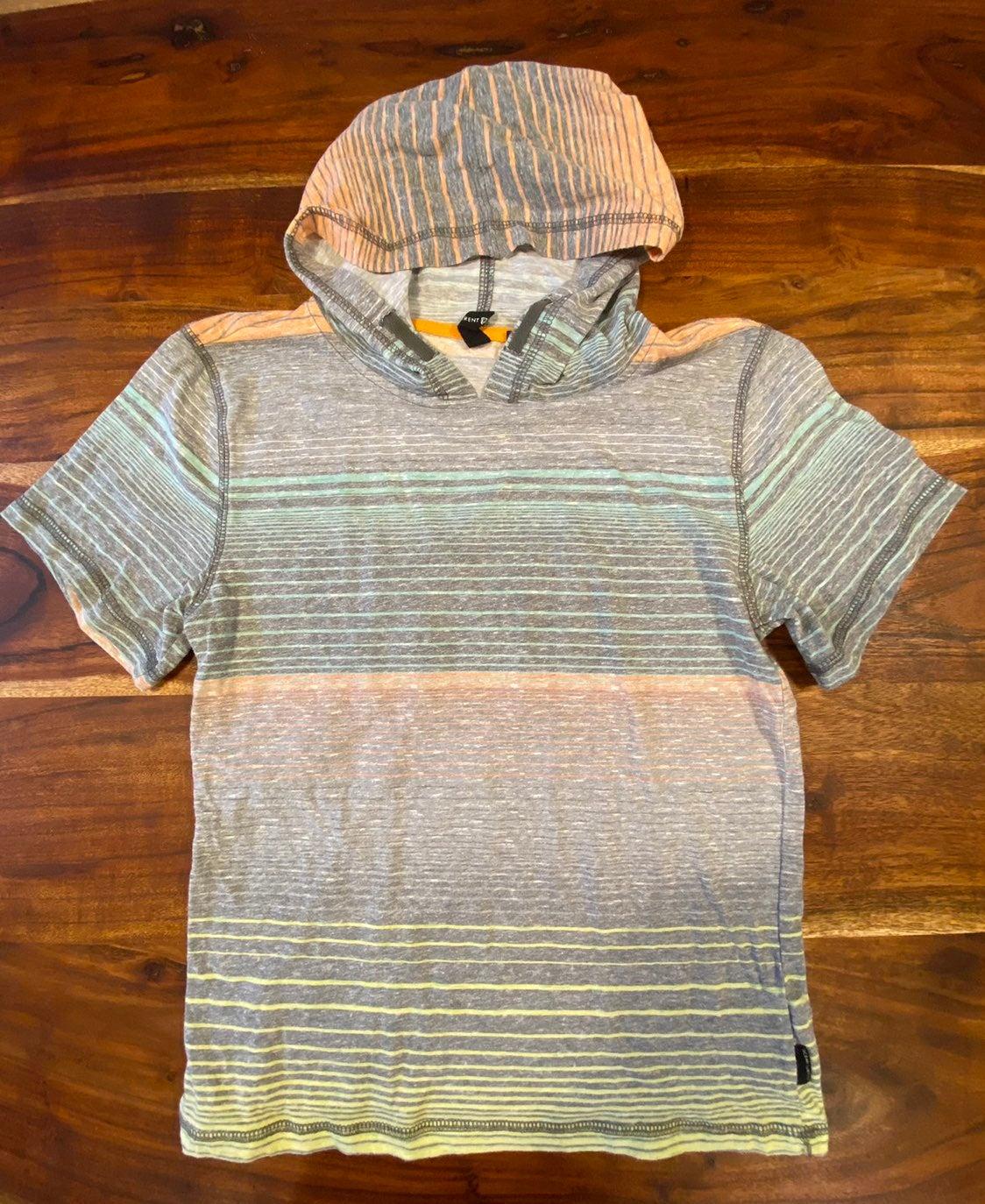Boys Hoodie T Shirt L Short Sleeve