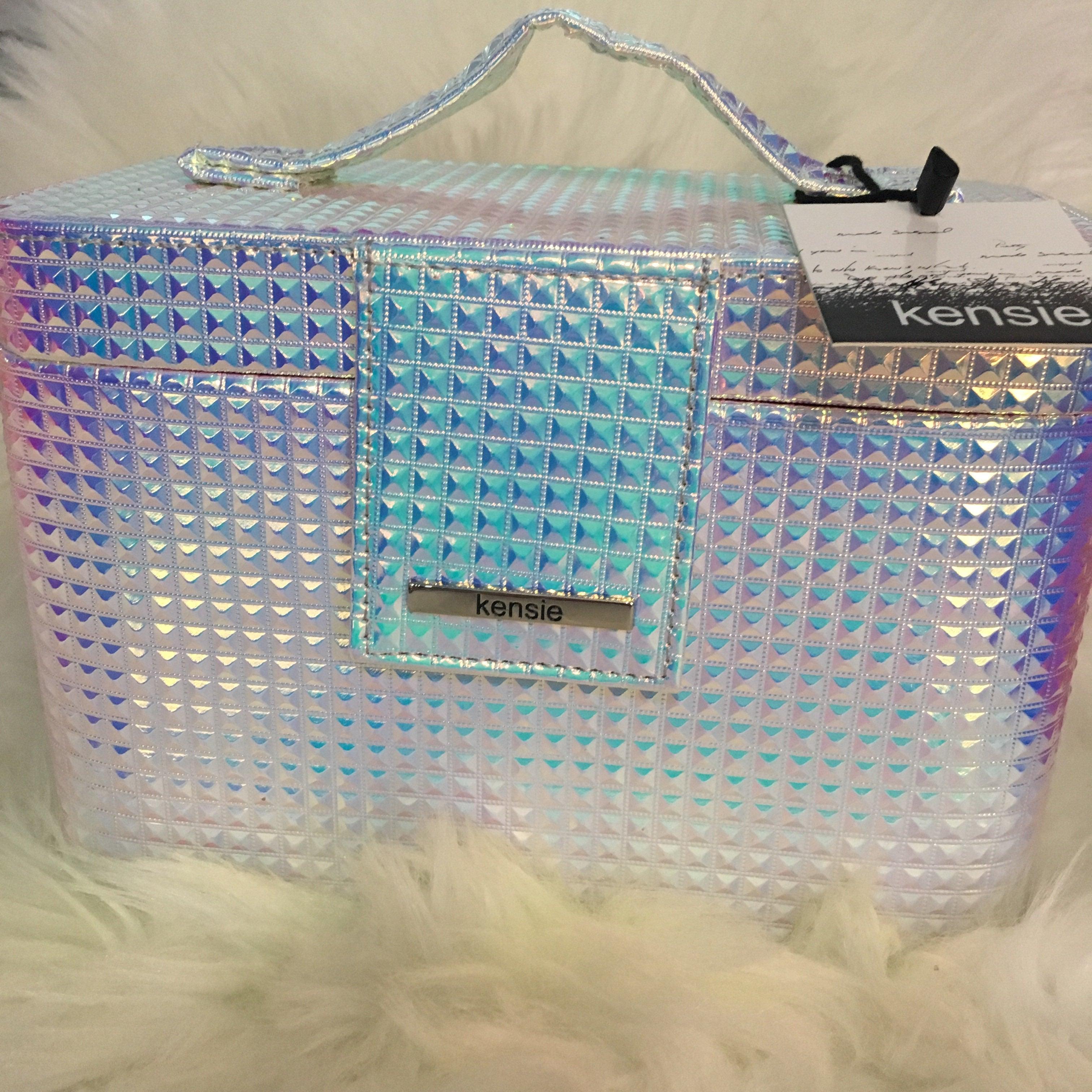 Holographic Iridescent Makeup Case