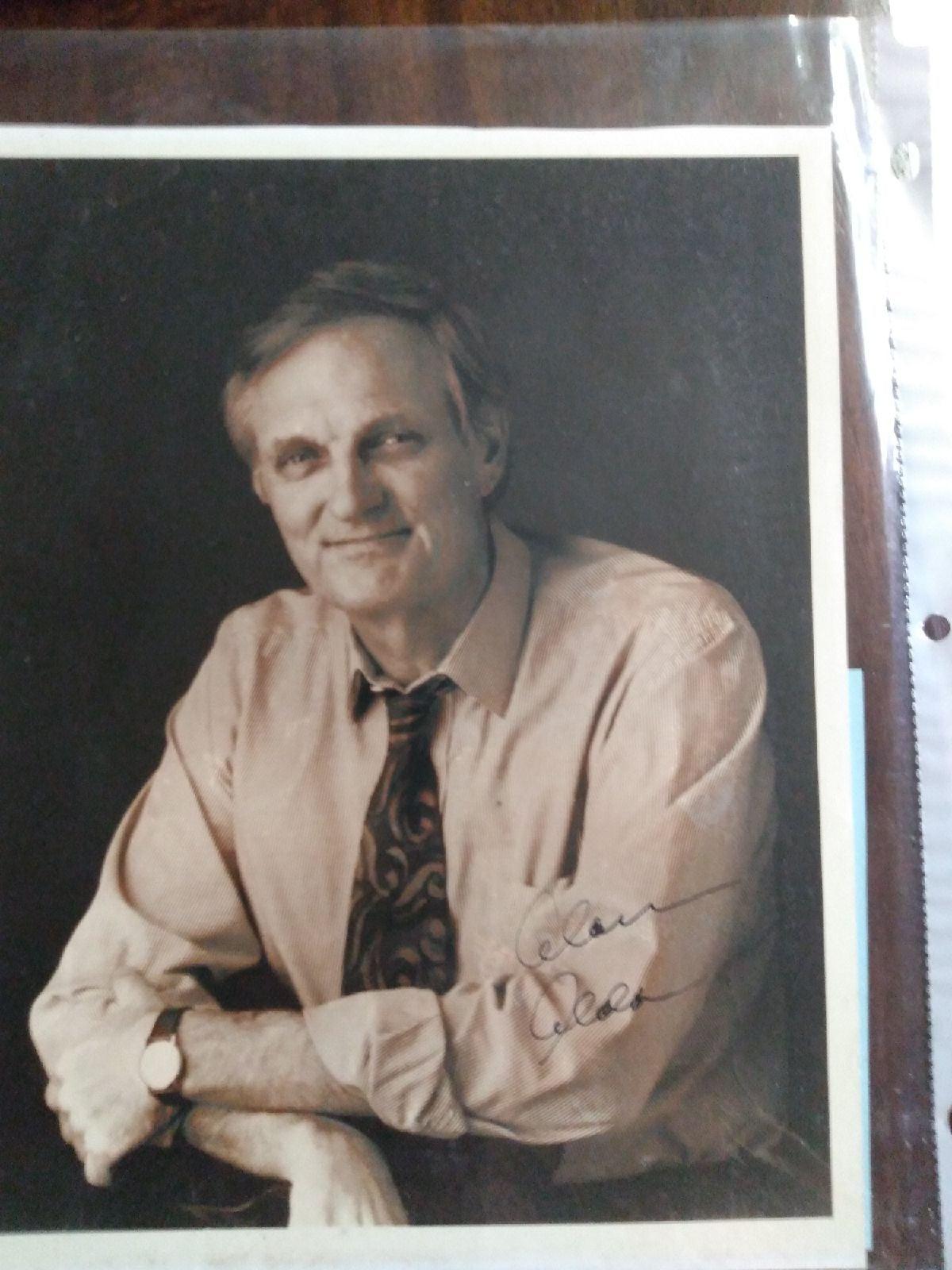 Alan Alda signature picture COA