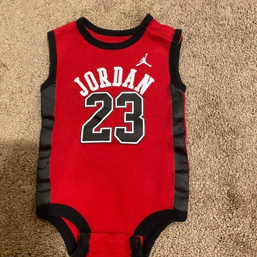 Jordan nike one piece boys sz 0-3 months