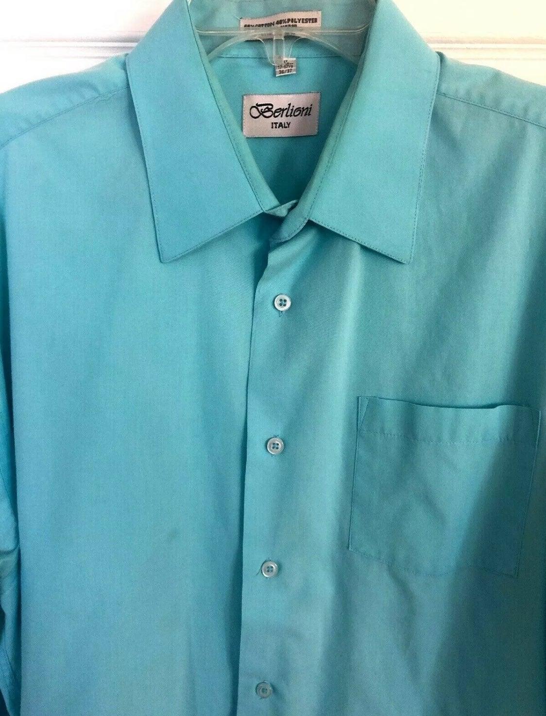 Berlioni Convertible Cuff Dress Shirt