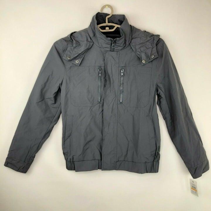 Marc New York Mens Black Bomber Jacket