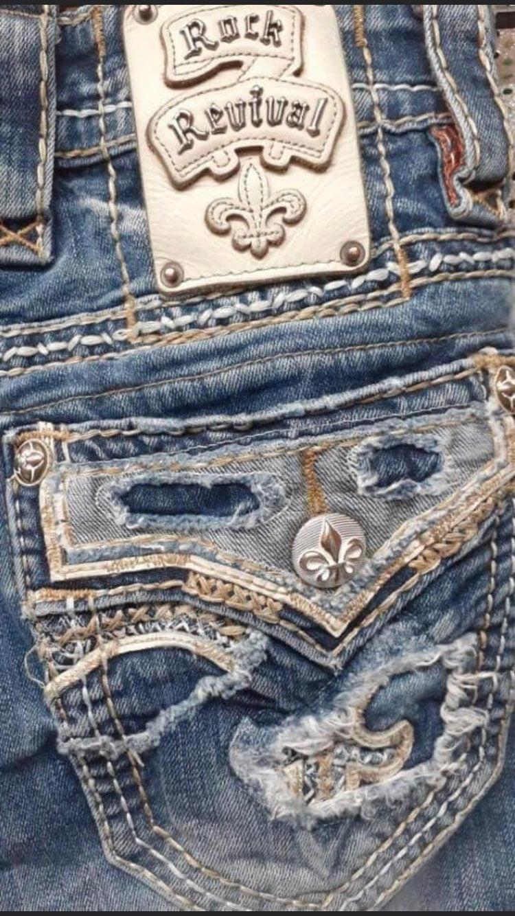 Men's Rock Revival Jeans Size 26