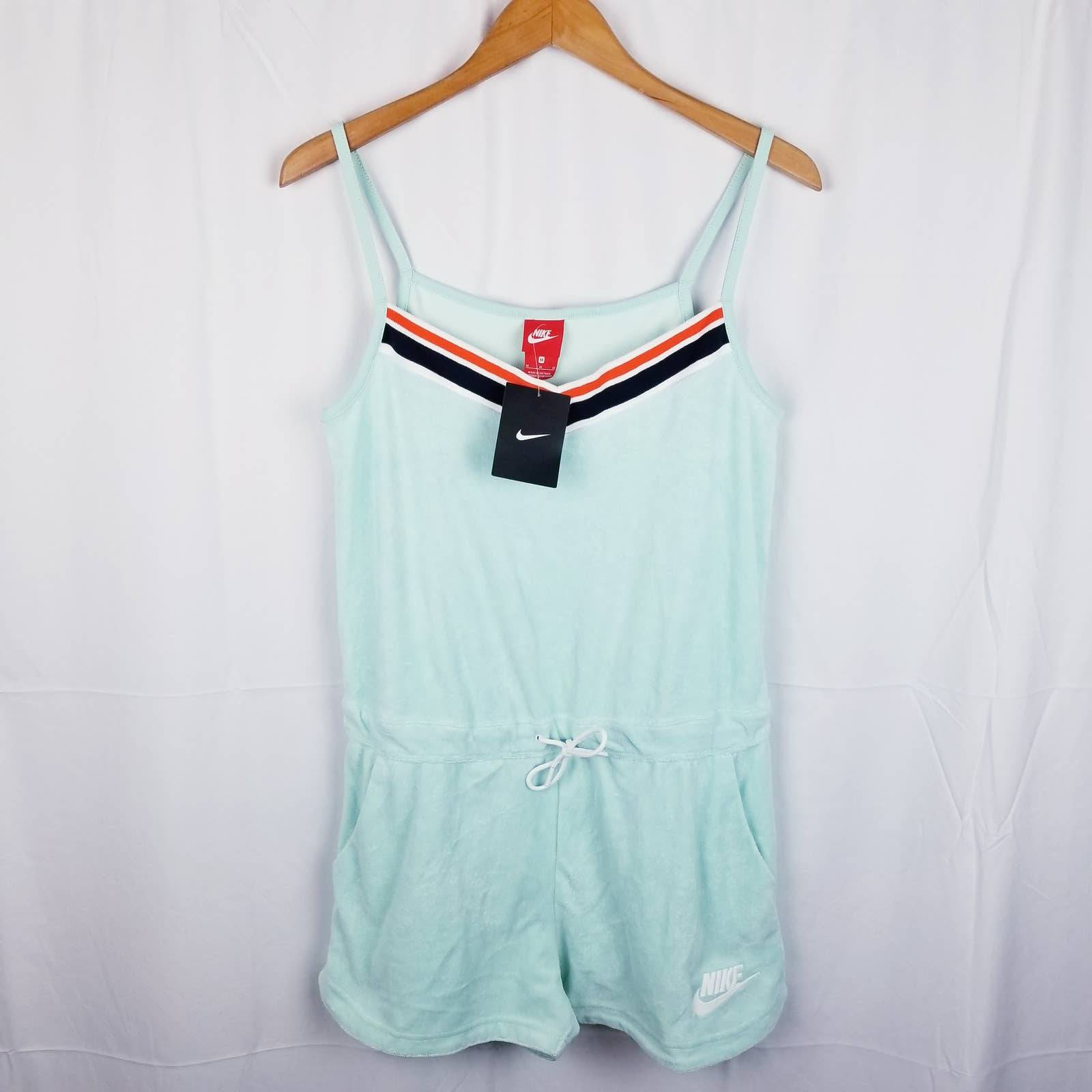 Nike NSW Terry Cloth Romper Jumpsuit M