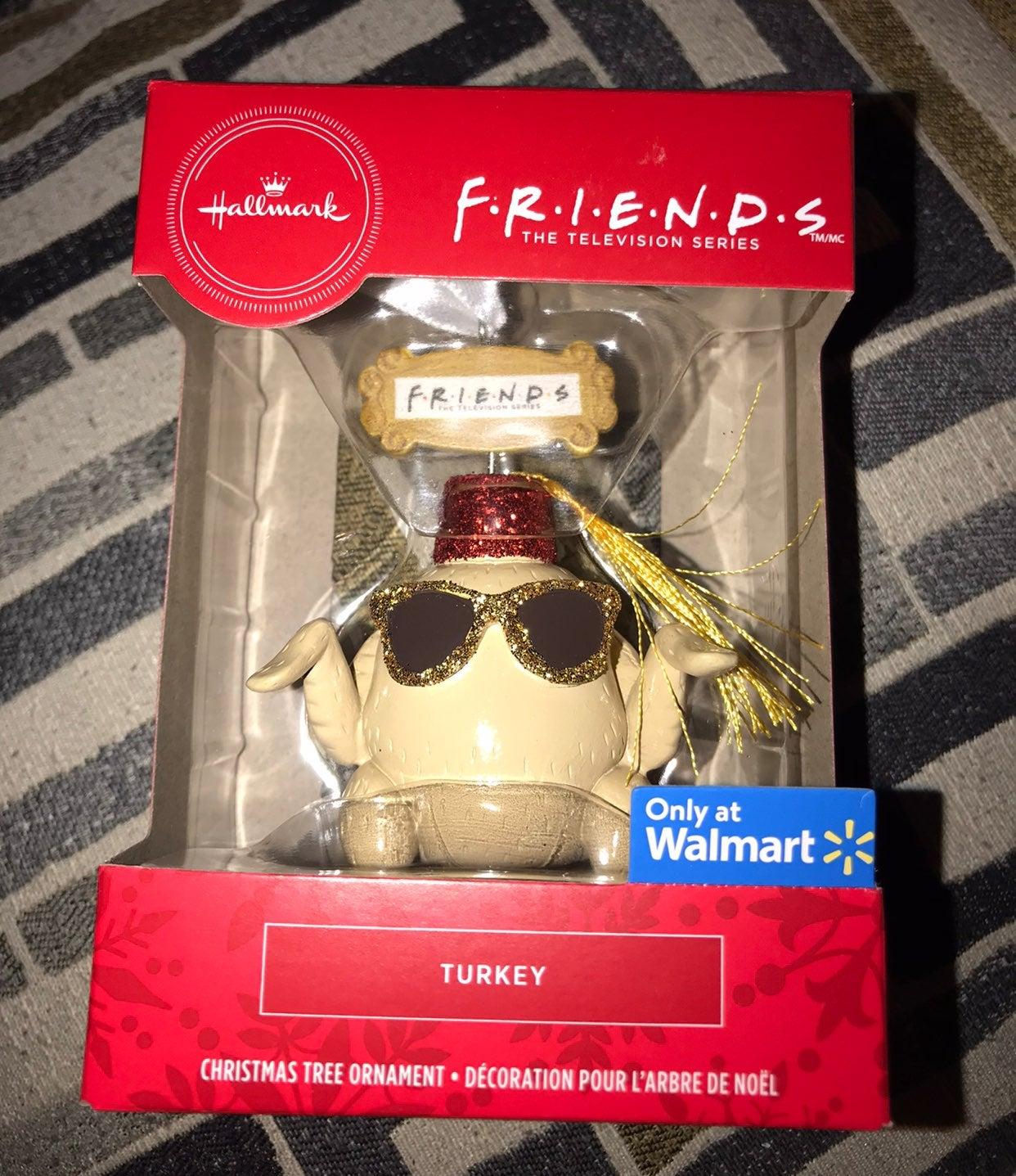 friends tv show turkey ornament