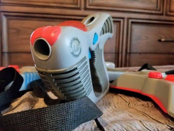 Vintage TOYMAX Laser Challenge Laser Tag