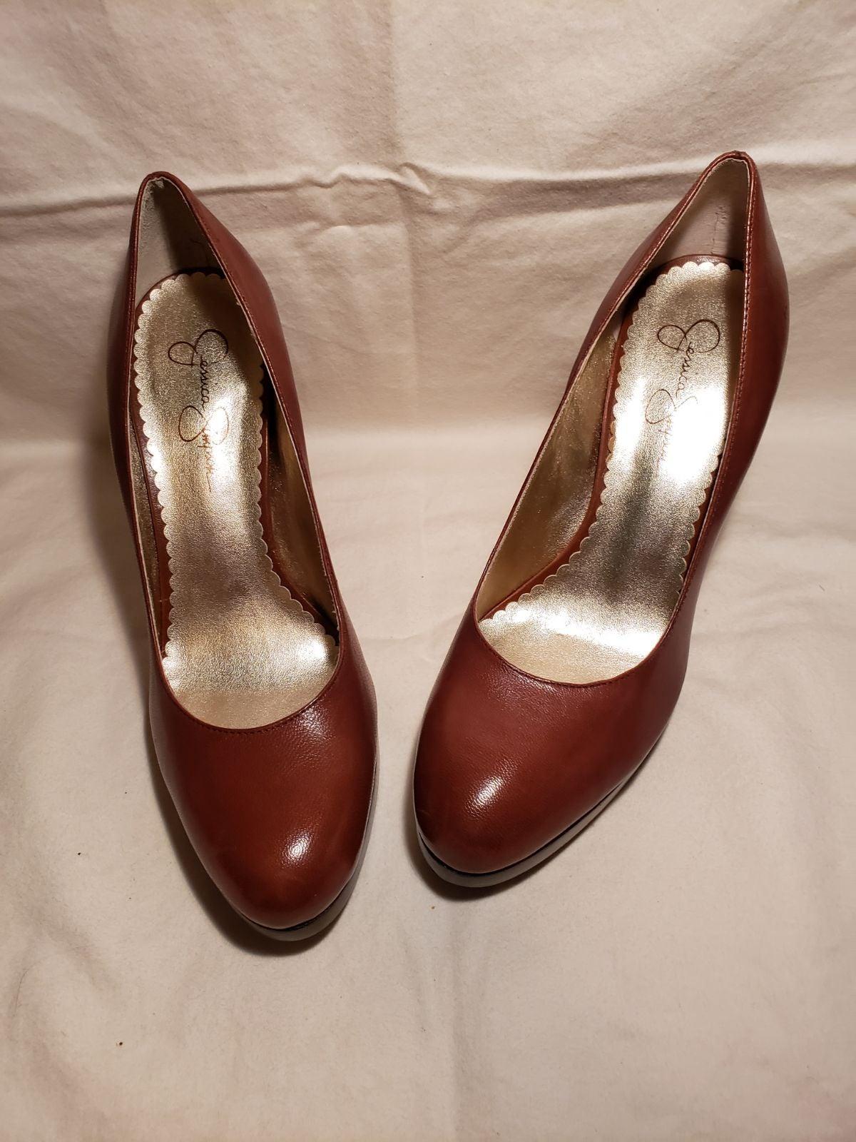 Jessica Simpson Platform heels - Brown