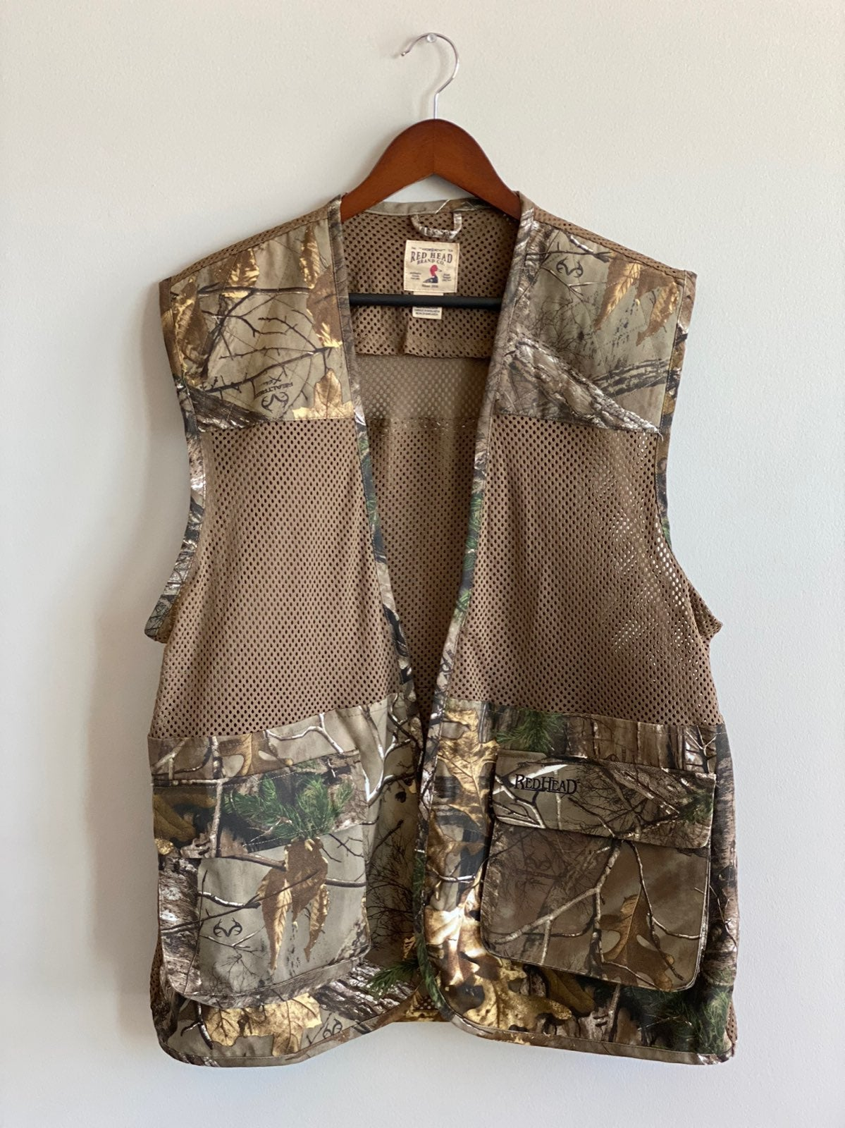 Red Head Hunting Vest Sz. L