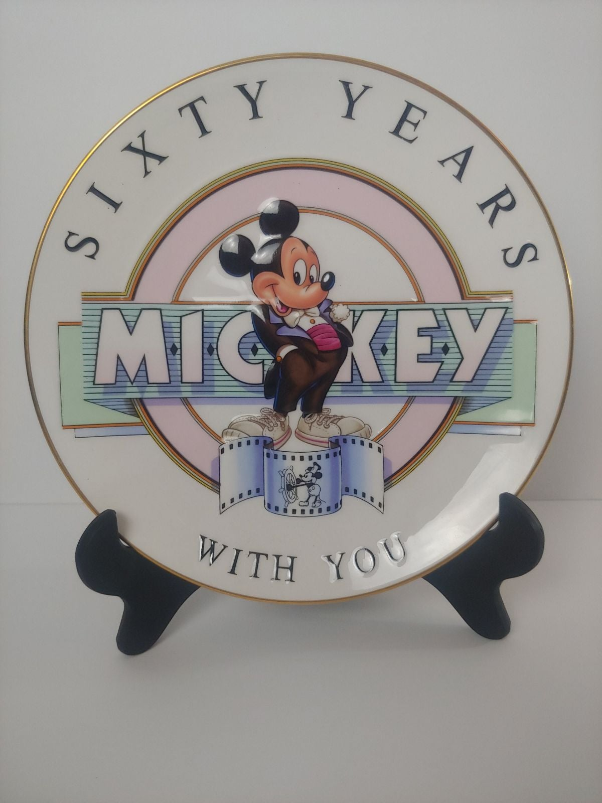 Disney collector's plate