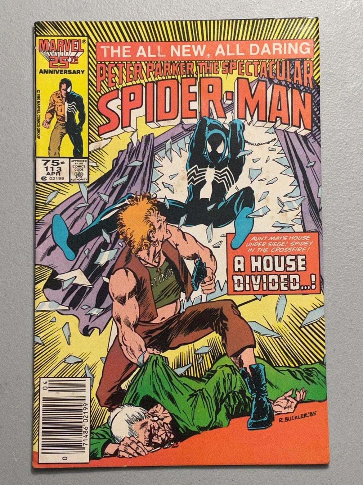 Spectacular Spider-Man # 113