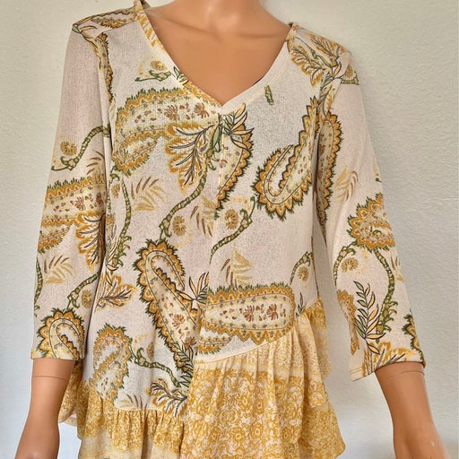 One Workd Tunic M Paisley Hip