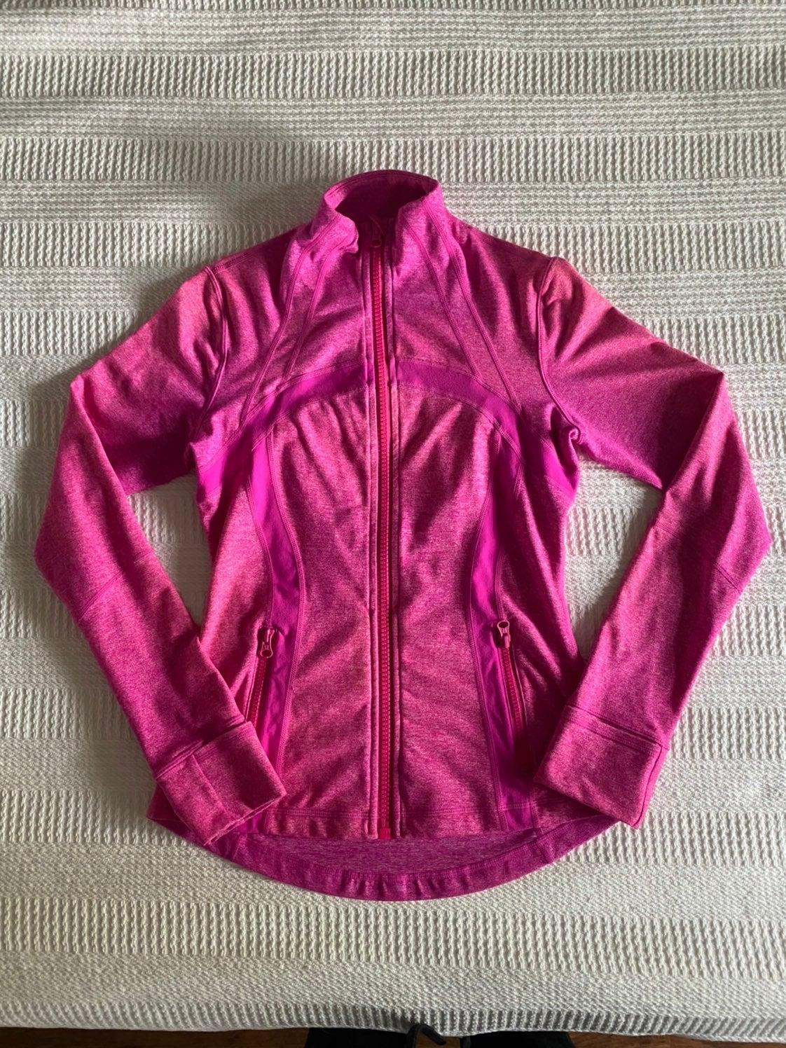 Lululemon jacket, pink